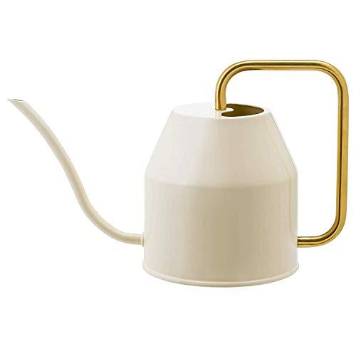 IKEA. 403.941.18 Vattenkrasse Watering Can, Ivory, Gold