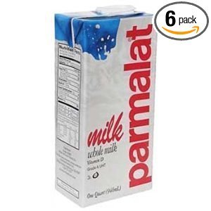 Parmalat Whole Milk 1 Qt (Pack of 6)