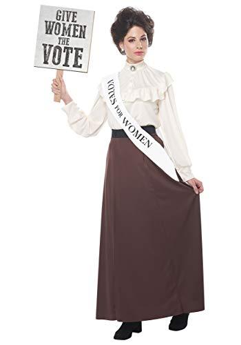 Costumes Inchiriat Pentru Copii Legume - California Costumes English Suffragette Adult Costume-Medium