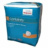 Walgreens Certainty Fitted Briefs, Large, 32 ea