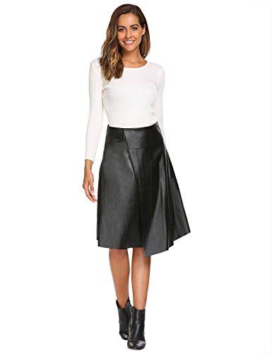 Length Black Leather - 6