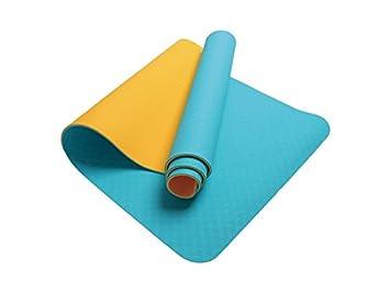 XeibD - Esterilla de Yoga de Doble Capa Antideslizante para ...