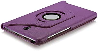 SM-T595 GALXAY-AMBRA includes Protector /& Stylus Pen PURPLE 360 Rotating Leather Case Stand Cover For New Samsung Galaxy Tab A 10.5 SM-T590