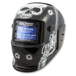Titan (TIT41282) Auto Darkening Welding Helmet - Skull and Pistols