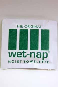 Wet-Nap Moist Towelette (case of 1000)