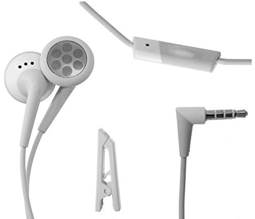 (BlackBerry Stereo Headset Headphone OEM Universal 3.5mm in-Ear with Remote and Mic )
