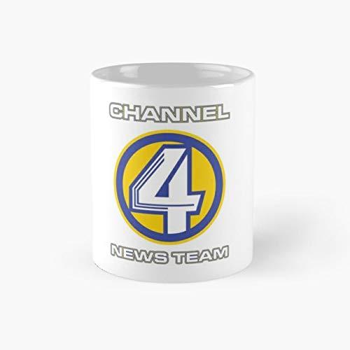Channel 4 News Team (ANCHORMAN) Mug, channel 4