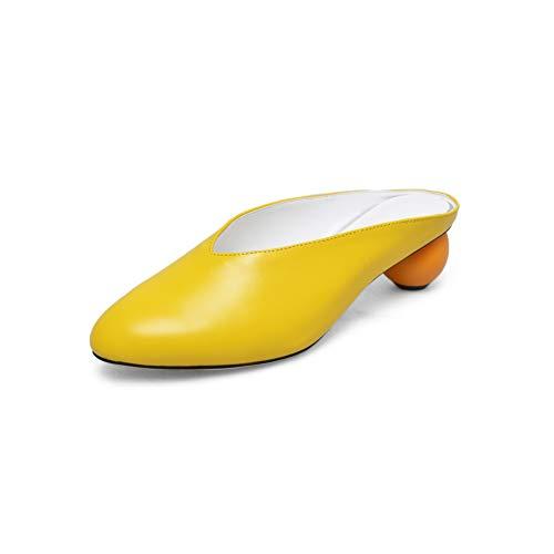35 Sandali Zeppa Con Apl11088 yellow Donna Balamasa Giallo 0q56xUCw