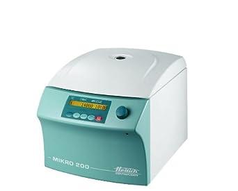 Hettich 2400-01 Mikro 200 Classic Microcentrifuge, 1 sec to 59 min 59 sec, 15000 rpm