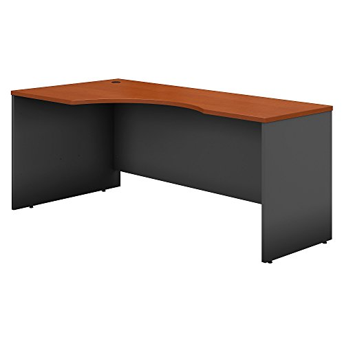 - Bush Business Furniture Series C 72W Left Handed Corner Desk - Auburn Maple/Graphite Gray 71W X 35D X 30H ERGONOMICHOME BUSH BUSINESS FURNITURE Scroll Down for Product Description