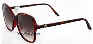 1e33743269d34 Cartier Double C Decor Tortoiseshell 58 16 Women s Sunglasses ESW00100