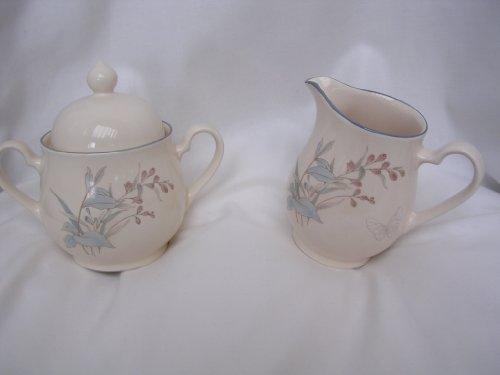Irish China Cream & Sugar Set ; Porcelain Collectible Kitchen Home Decor