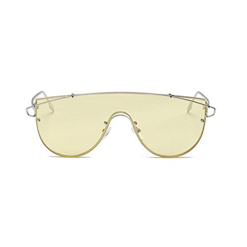 Lunettes De Soleil Rondes, Les Femmes De LéTé La Mode Vintage RéTro Lunettes Rondes Unisexe Voyage Aviateur Miroir Lens J