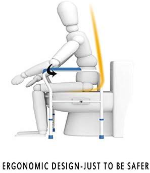 高齢者シニアハンディキャップ障害者、ユニバーサルフィット用にアップグレードトイレ安全フレームRailsのサポートバー