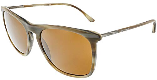 Giorgio Armani Men's AR8076-549473-55 Brown Rectangle ()