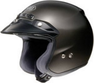 SHOEI RJ PLATINUM R SERIES CRUISER ANTHRACITE SIZE:MED Motorcycle Open-Face-Helmet