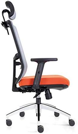 SMLZV Fauteuil de Bureau Ergonomique Mesh Président Accueil Chaise Ordinateur Chaise Chaise de Bureau Patron Ascenseur Taille Haut Dossier Mesh Chaise de Bureau