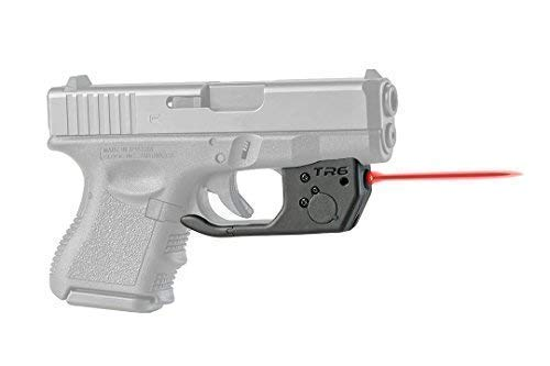 ArmaLaser Glock 26 27 33 TR6 Red Laser Sight with Grip Activation