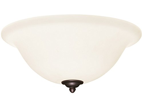 (Emerson Ceiling Fans LK74SW Opal Matte Light Fixture for Ceiling Fans, Medium Base CFL)