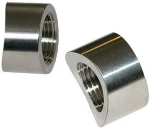 Oxygen O2 Sensor Fitting Bung M18 x 1.5 Straight Threaded Pack Of 4 (35mm)