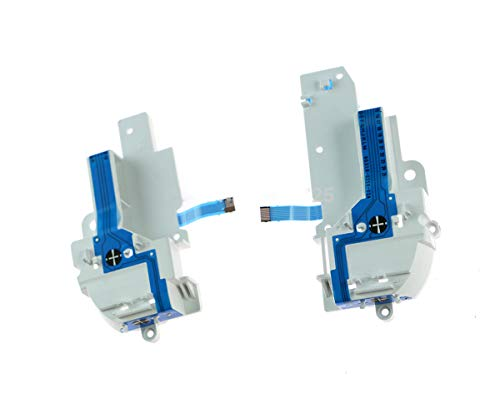 Left and Right Conductive Film Key Pad Button Ribbon Flex Cable with Bracket Frame for Wii u WIIU Pad Controller