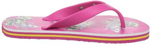 Ed Hardy Womens Bc Gpa Flip Flop Sandal Fuschia-11sbc605w
