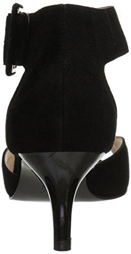 Pelle Moda Donne Pompa Vestito Berlin-su Nero