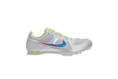 Nike Zoom Rival Md 6 Kvinna Vit / Bl Glw-pnk Flsh-brly Vlt