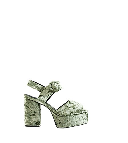 Jeffrey Campbell Masie, Sandalias Para Mujer verde caqui