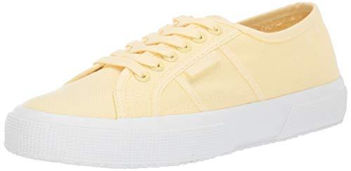 Superga Women's 2750 Cotu Classic Sneaker, Full Beige Cream, 40 M EU (9 US) (Sneakers Yellow Women)