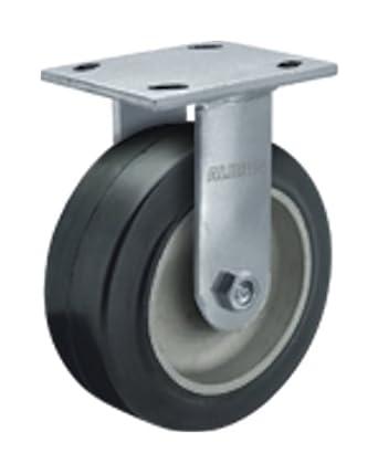 "Albion 16 serie 6 ""Diámetro moldon goma de aluminio rueda Medium Heavy Duty Zinc"