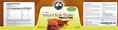Instant Chocolate Kale Shake – High Quality Protein Powder – Weight Loss Shake – Meal Replacement By Dr. Berg (504 Grams) by Dr. Berg's Nutritionals (Image #6)