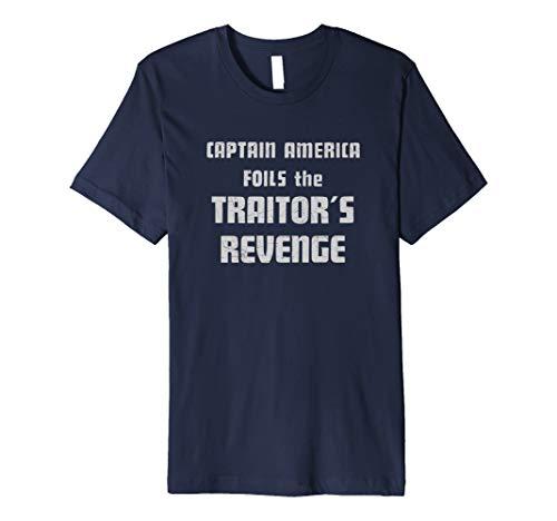 Marvel Captain America Foils the Traitor's Revenge  Premium T-Shirt