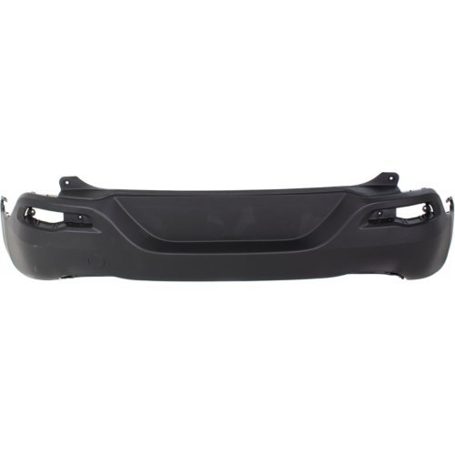 Jeep Rear Bumper Cover - Rear Bumper Cover Compatible with JEEP CHEROKEE 2014-2018 Lower Textured - CAPA