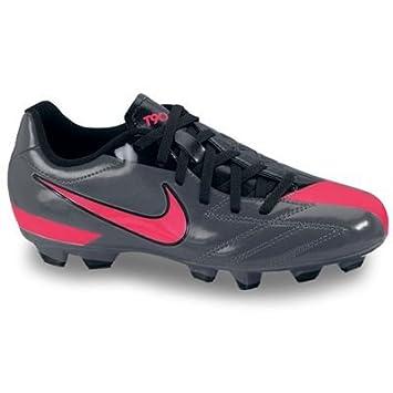 Nike Total 90 Shoot IV FG Zapatillas de fútbol sala infantiles grau -  schwarz - rosa Talla 36  Amazon.es  Deportes y aire libre 8e02989b6e949