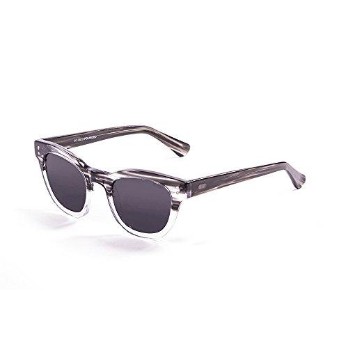 Ocean Sunglasses Santa Cruz Lunettes de soleil Shiny Black/Smoke Lens h5EbQ4P