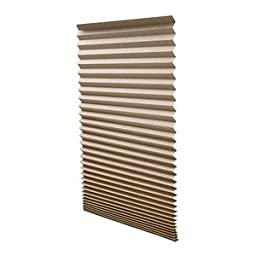 Redi Shade 1612094 Pleated Light Filtering Window Shade (Pack of 1), 36\