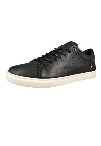 Levi's Vernon, Sneaker Uomo Nero (Noir Regular Black 59)