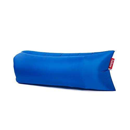 Fatboy Lamzac The Original Version 1 Inflatable Lounger with Carry Bag, Inflatable Couch for Indoor or Outdoor Hangout or Inflatable Lounge Air Chair - Petrol