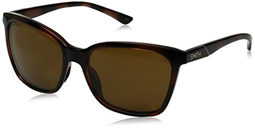 Smith Optics Colette Sunglass with Polar Brown Carbonic TLT Lenses, - Smith Sunglasses Women