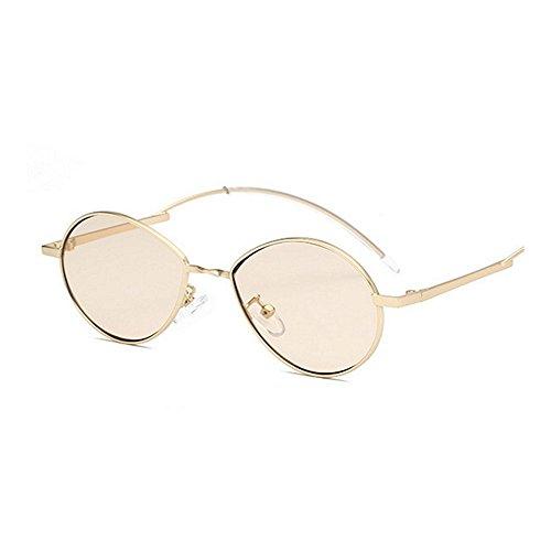 de lentille conduite lunettes de Lunettes de de de hommes les soleil protection femmes soleil lunettes les Rétro unisexe soleil lunettes petite ovale pour PC Rétro Beige de dame UV et ski de personnalité de XSwq44gx