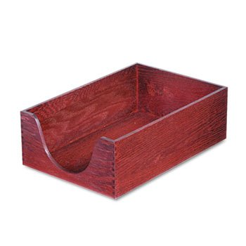 hardwood-legal-stackable-desk-tray-mahogany