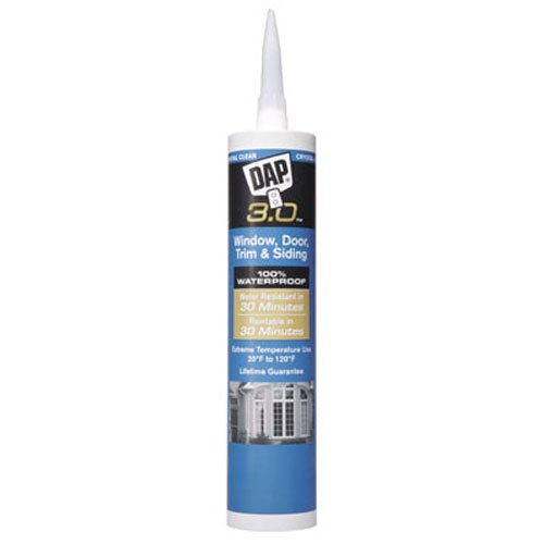 DAP Crystal Clear 3.0 Window, Door, Trim & Siding Sealant