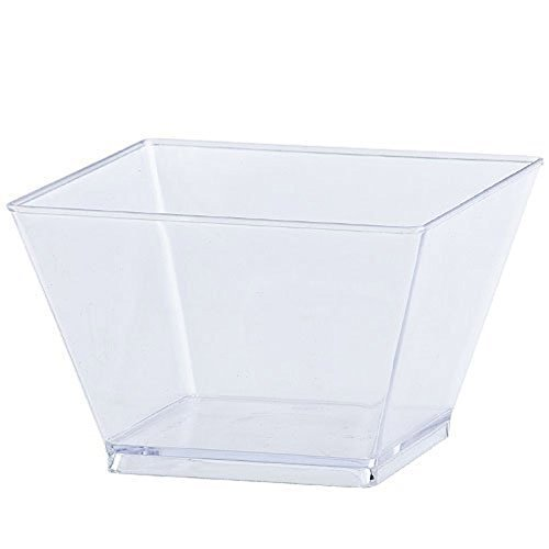 (Lillian Tablesettings 40 Count Condiment Bowl, 8-Ounce, Clear)