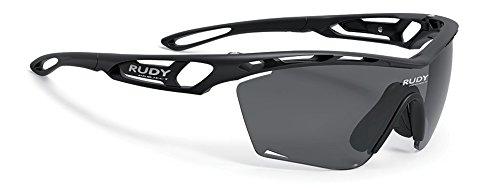 ルディプロジェクト(RUDYPROJECT) サングラス スポーツ ロード バイク トラリクススリム ブラックフレーム スモークレンズ SP461006-0000   B0765ZWPT8
