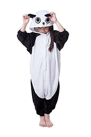 Children's Pajamas Animal Costume Animal Onesie Kids Sleeping Wear Kigurumi Pajamas Cosplay (M, panda)
