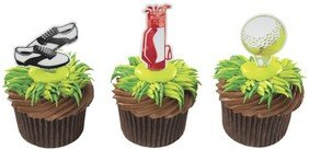 Party Cupcake Pics - Golf Cupcake Picks - 24 ct