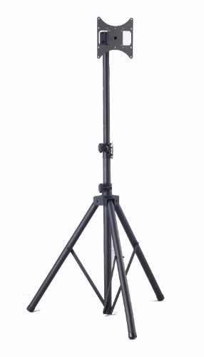Elitech Steel Portable Plasma or LCD TV Tripod Stand for up to 46