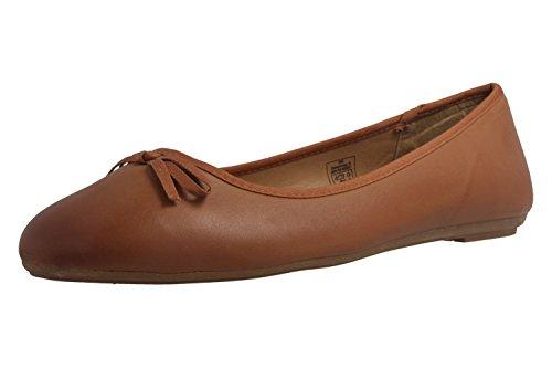 Fitters Footwear - Bailarinas de Material Sintético para mujer marrón marrón
