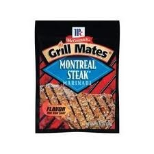Grill Mates Montreal Steak Marinade, .71 Oz. (Pack of 4) (Meat Steak)